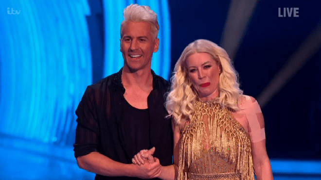 Denise will not be returning to Dancing On Ice