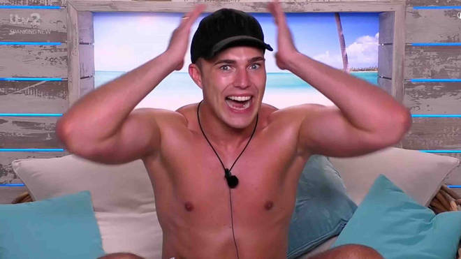 Curtis appeared on Love Island in 2019
