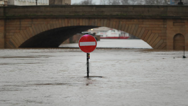 Flooding hit large areas of the North last week