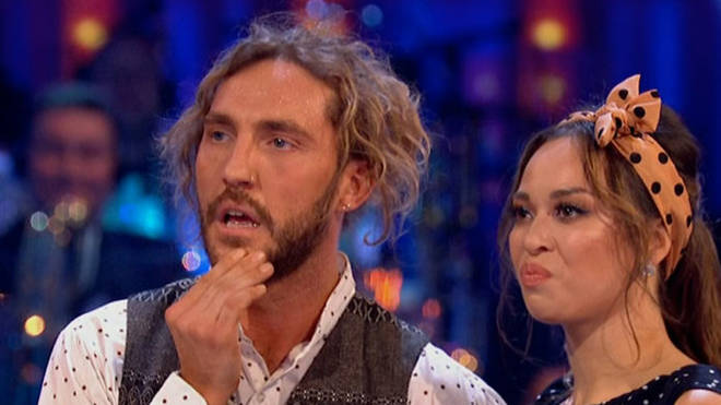 Seann Walsh and his dance partner Katya Jones were photographed kissing despite both being in relationships at the time
