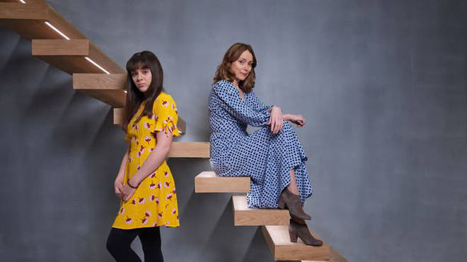 Isabella stars in Finding Alice alongside Keeley Hawes