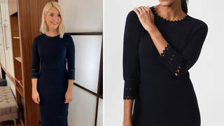 Holly Willoughby's dress is from Hobbs London