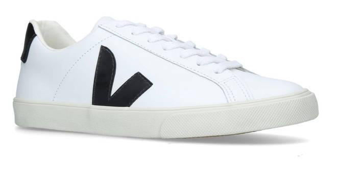Veja's Leather Esplar sneakers worn by Meghan Markle