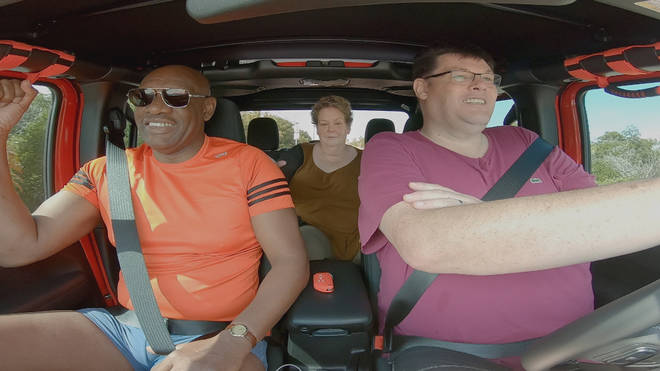 The Chaser's Road Trip sees Shaun, Anne and Mark travel the world