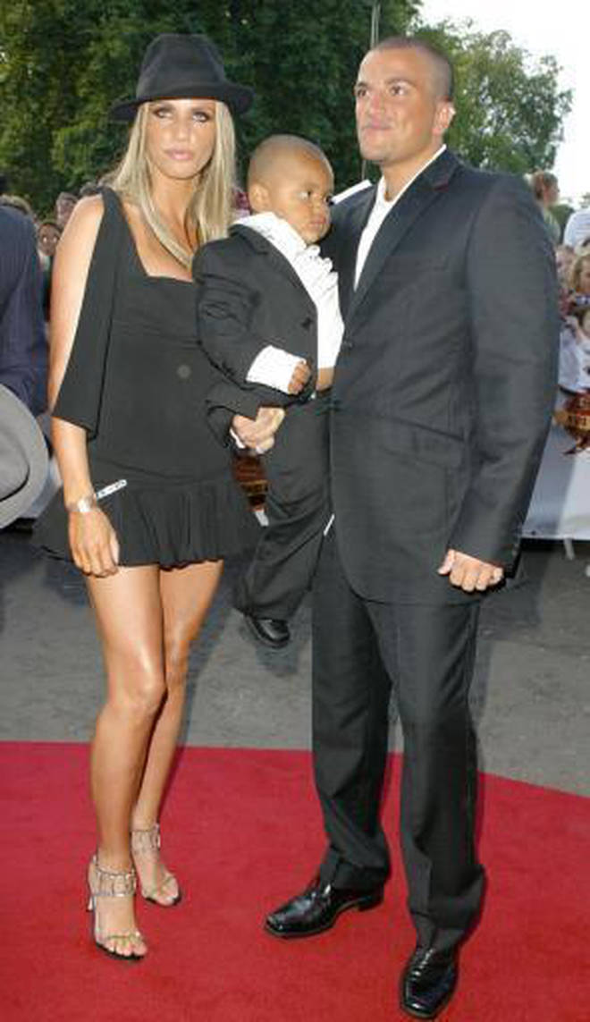 Katie Price and Peter Andre got married in 2005