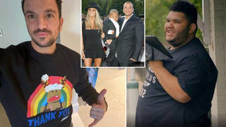 Peter Andre has praised Harvey following the Harvey and Me documentary