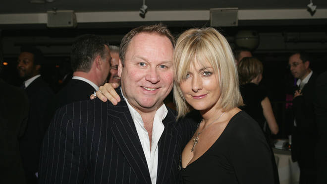 Loose Women star and journalist Jane Moore and her husband Gary Farrow