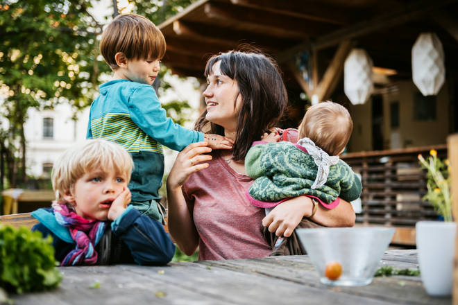 Mum's with three children are the most stressed