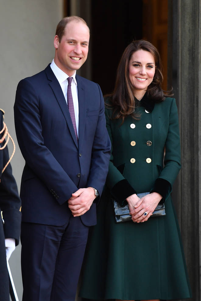 Kate said William has been her 'biggest support'