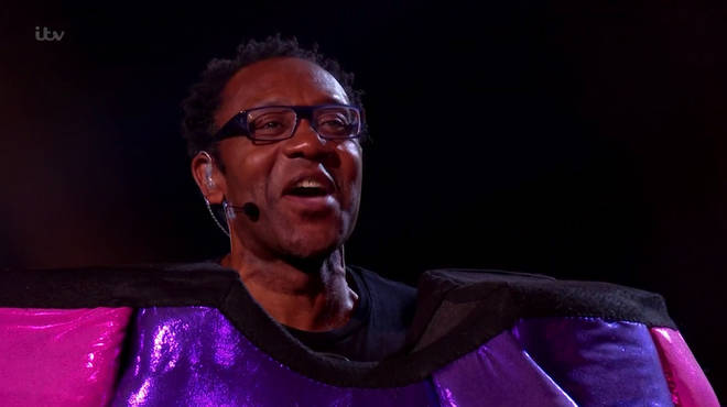 Blob was unmasked as Sir Lenny Henry