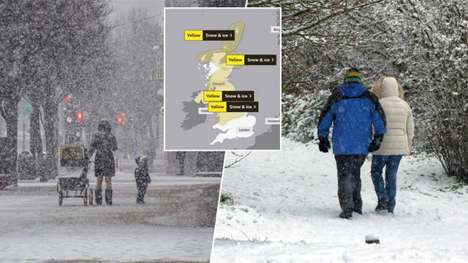 There is more snow and ice headed for the UK this week