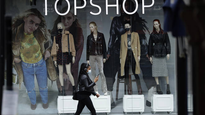 ASOS has bought Topshop and other Arcadia groups
