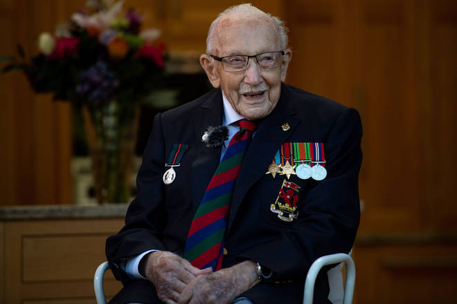Captain Sir Tom raised over £33 million for NHS charities