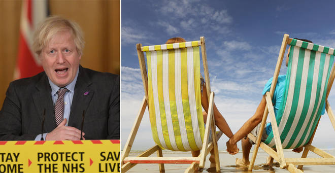 Boris Johnson has spoken out about the prospect of summer holidays in 2021