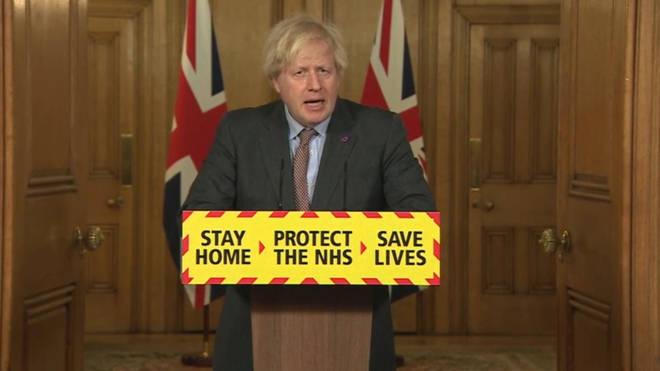 Boris Johnson made the comments earlier today