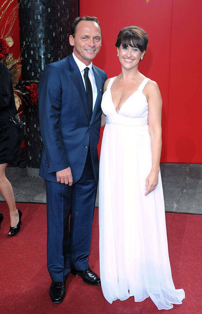 Perry Fenwick married Coronation Street actress Angela Lonsdale in 2005