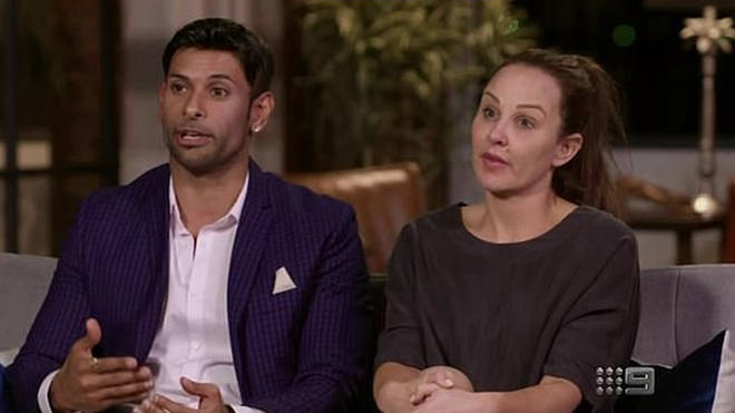Melissa Lucarelli and Dino Hira came to blows on Married at First Sight Australia