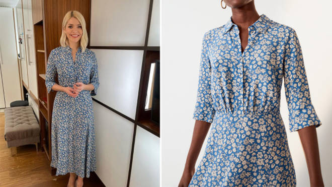 Holly Willoughby's dress is from Jigsaw