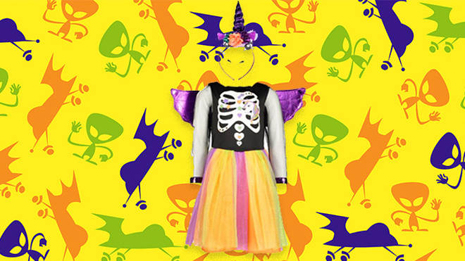 Tesco's unicorn witch outfit was designed by 8-year-old Saranne