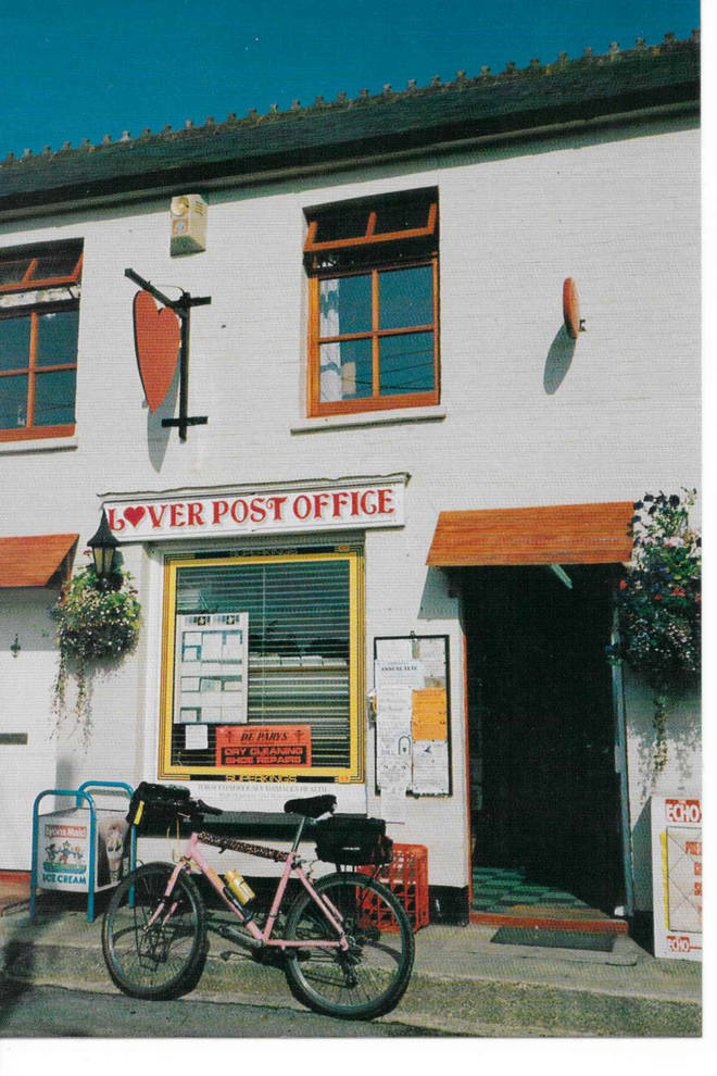 The post office in the picture perfect village of Lover, Wiltshire