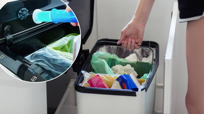A cleaning expert has revealed how she keeps her bins smelling fresh