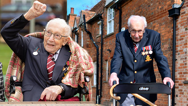 Captain Sir Tom Moore has died at the age of 100