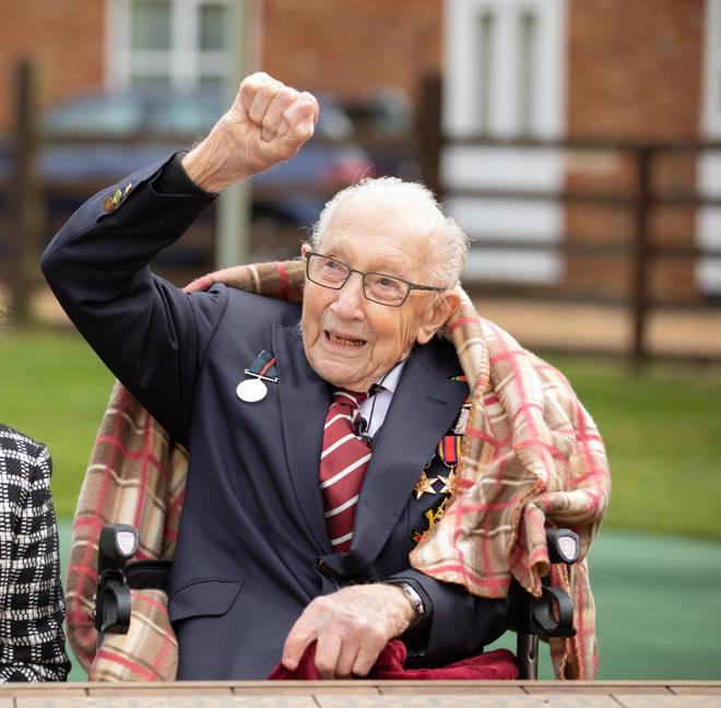 Sir Tom Moore passed away this week at the age of 100
