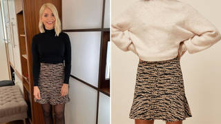 Holly Willoughby's skirt is from Whistles