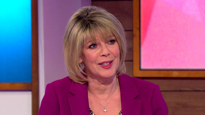 Ruth Langsford discussed care home visits on Loose Women