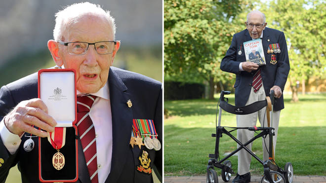 Tom Moore is a war veteran
