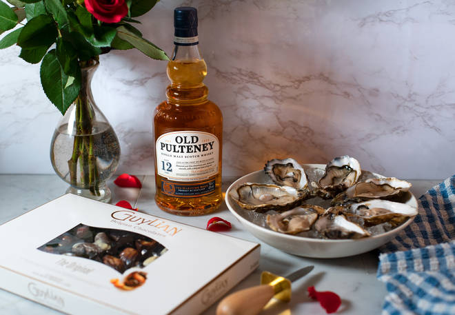 What is more romantic than oysters and chocolates?