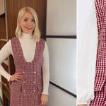 Holly Willoughby's dress is from Maje Paris