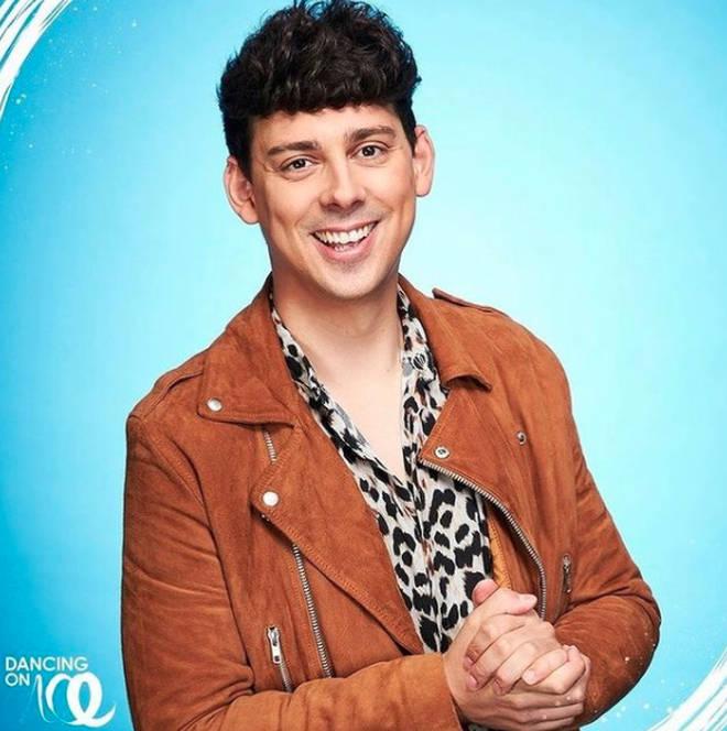 Matt Richardson has replaced Rufus Hound on Dancing on Ice