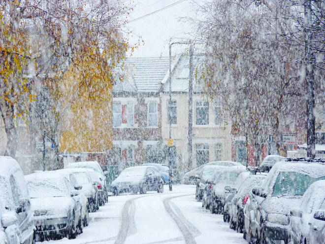 Some areas of Britain could see up to 30cm of snow this weekend