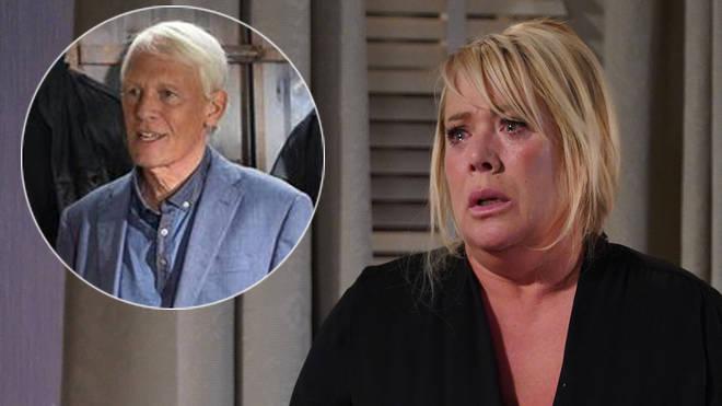 Sharon Watts' dad dies in EastEnders