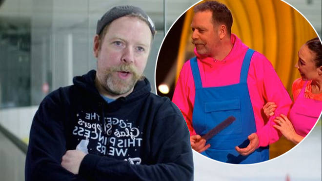 Rufus Hound was forced to pull out of Dancing on Ice