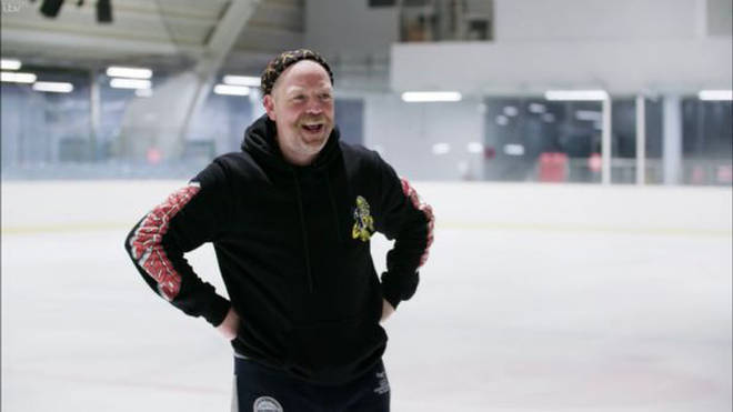 Rufus Hound will no longer be competing on Dancing On Ice