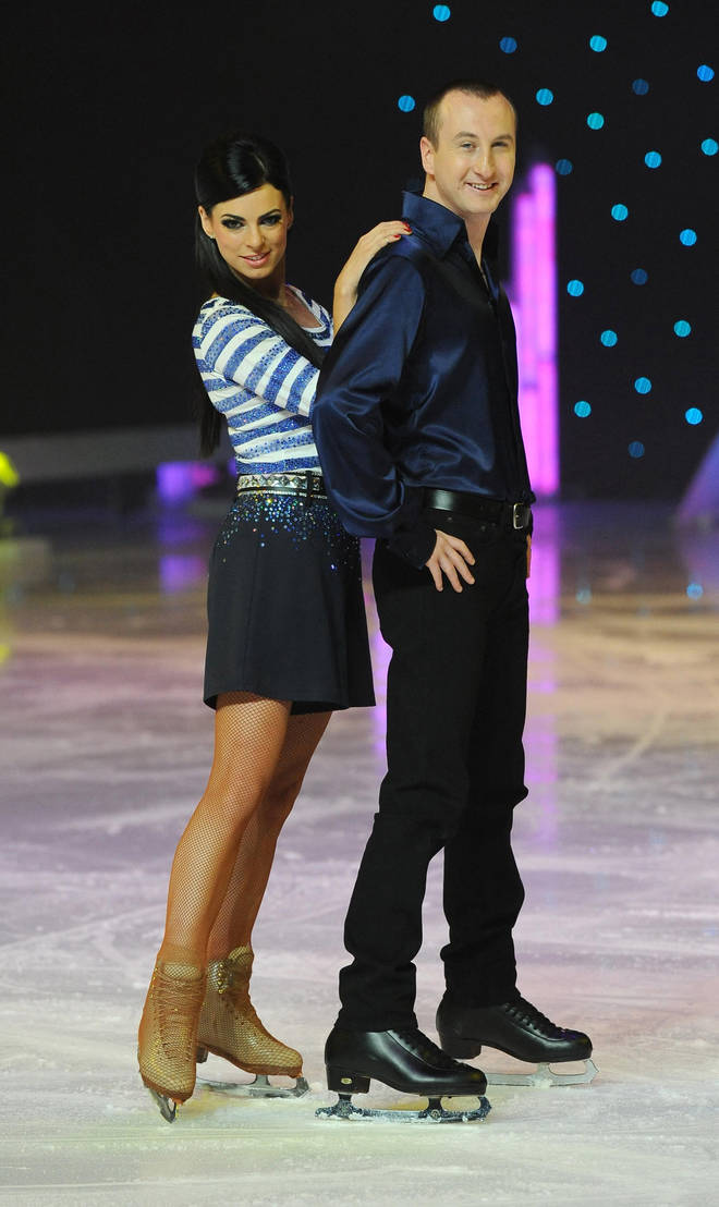 Vicky Ogden was paired with Andy Whyment on Dancing On Ice