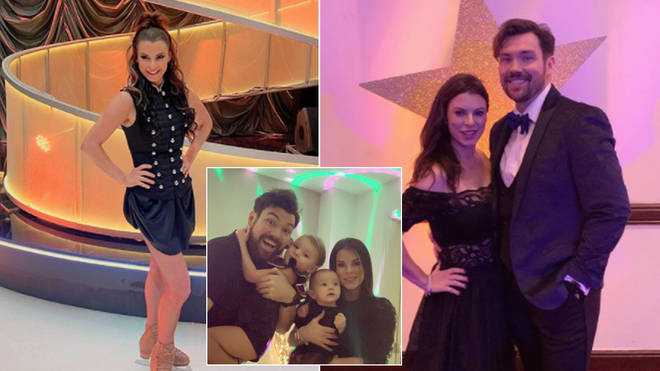 Vicky Ogden is married to her former Dancing On Ice partner Sam Attwater
