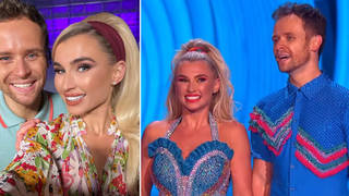 What happened to Billie Faiers on Dancing On Ice?