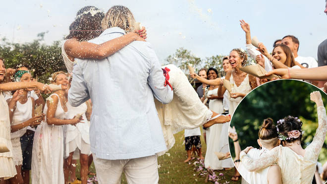Weddings are currently limited in the UK