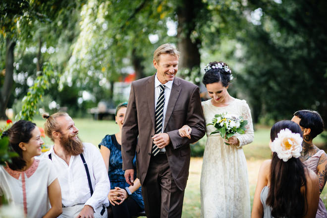 Large weddings are currently banned in the UK