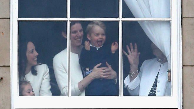 Maria Borrallo is the nanny for Prince George, Princess Charlotte and Prince Louis