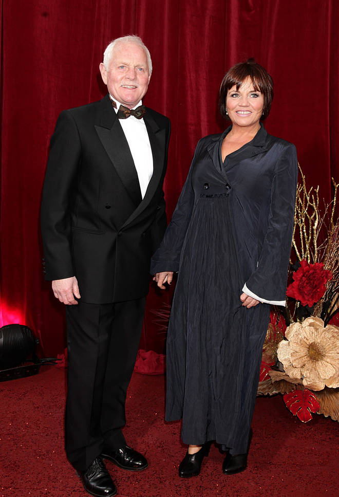 Chris Chittell and Lesley Dunlop are married