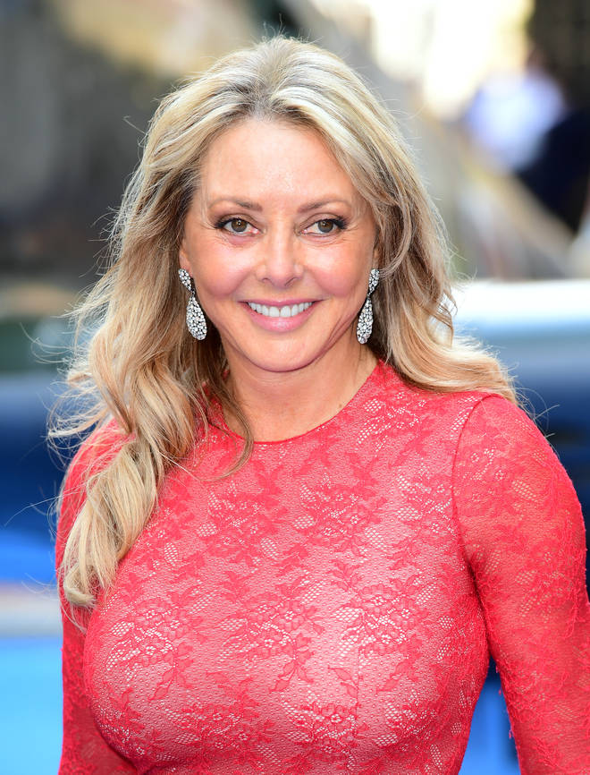 Carol Vorderman has a 21-year-old son and 25-year-old daughter