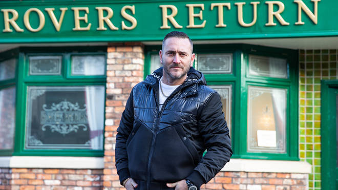 Will Mellor is playing evil villain Harvey in Coronation Street