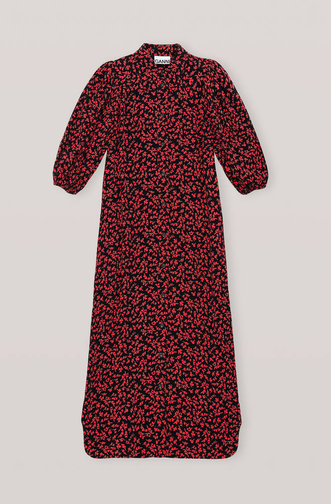 Holly Willoughby is wearing a similar dress from Ganni
