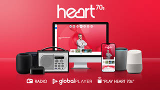 How to listen to Heart 70s on DAB, GlobalPlayer and smart speaker