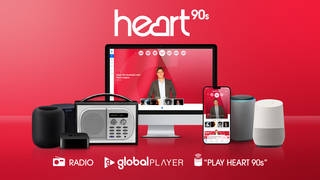 Heart 90s will brighten your day with classic 90s hits