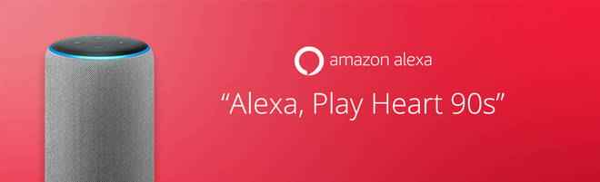 Here's how to listen to Heart 90s on Alexa